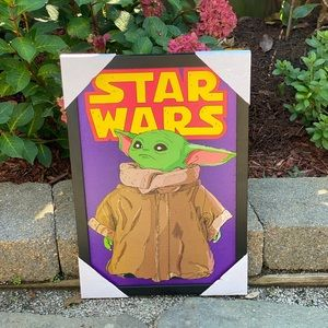 Star Wars Yoda Framed!
